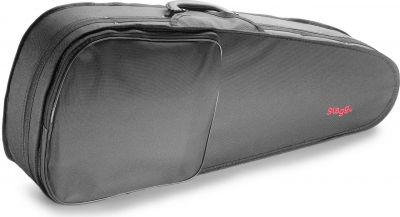 Stagg 27inch Tenor Ukulele Softcase, Black