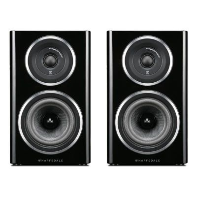 Wharfedale Diamond 11.1 Bookshelf Speakers (pair), Black Wood