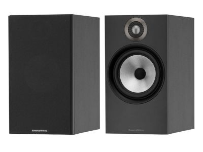 Bowers and Wilkins 607 2 way Stand/Wall Mountable Speakers (pair), Matte Black