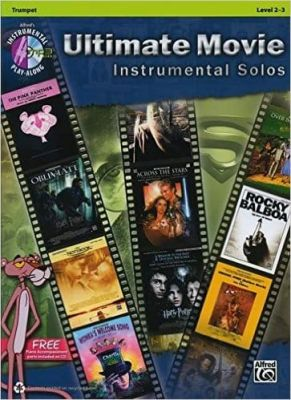 Ultimate Movie Instrumental Solos (Trumpet with Mp3 CD)