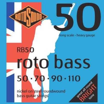 Rotosound Rb50 Nickel (Unsilked) 50 70 90 110