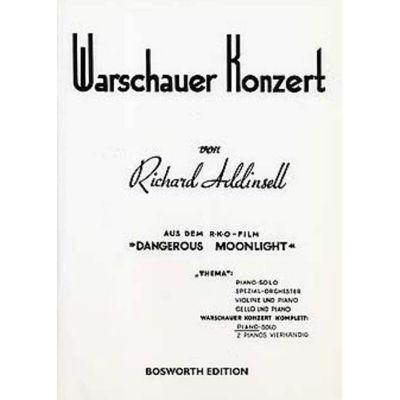 Richard Addinsell Warsaw Concerto (Piano Solo- Complete)