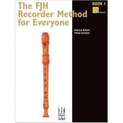 FJH Recorder Method for Everyone Book 1 + CD
