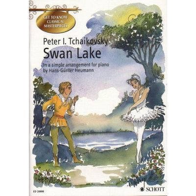 Swan Lake easy piano