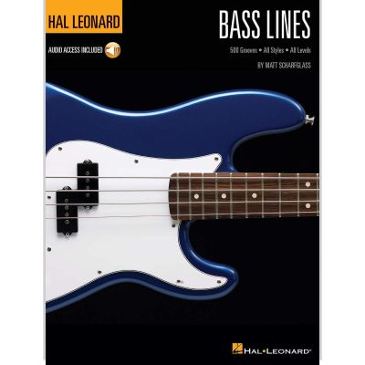 Bass Lines (Book + Online Audio)