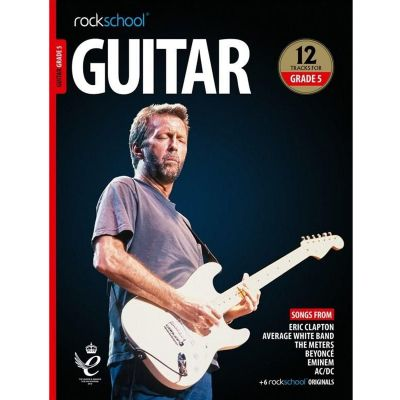 Rockschool Guitar Grade 5 from 2018 (Book + Audio)