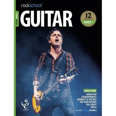 Rockschool Guitar Grade 1 from 2018 (Book + Audio)
