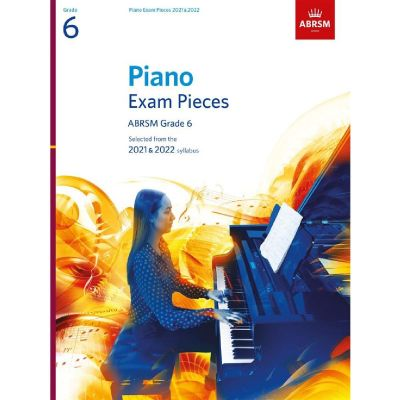ABRSM Piano Exam Pieces 2021-2022 Grade 6 (Book Only)