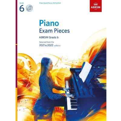 ABRSM Piano Exam Pieces 2021-2022 Grade 6 (Book and CD)