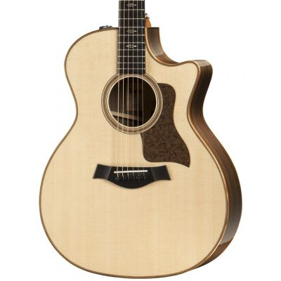 Taylor 714ce Grand Auditorium Cutaway Electro-Acoustic Guitar Natural (714CEN)