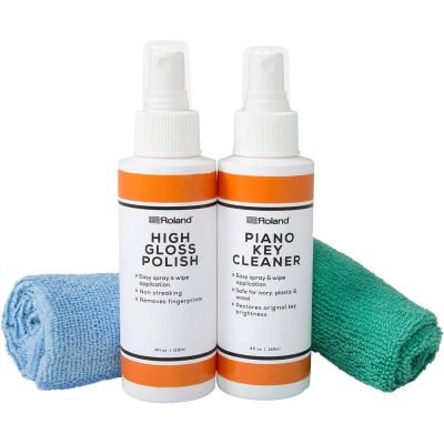 Roland High Gloss Piano Polish Care Kit