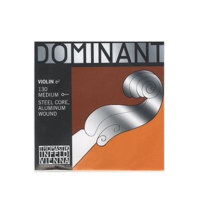 Thomastik Infeld Dominant Violin E String, Aluminium (Ball), Full Size