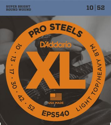 D'Addario XL Light Top Heavy Bottom