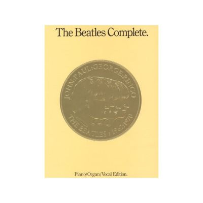 The Beatles Complete (Piano/Organ/Voice)