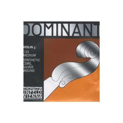 Thomastik Infeld Dominant Violin G String, Silver Wound, Full Size
