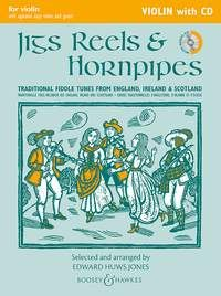 Jigs, Reels and Hornpipes for Violin (Book + CD)