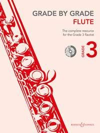Grade by Grade Flute 3 (Book/CD)