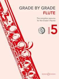 Grade by Grade Flute 5 (Book/CD)