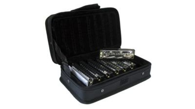 Hohner Blues Band Harmonica Set - 7pcs and Case C,D,E,F,G,A,Bb