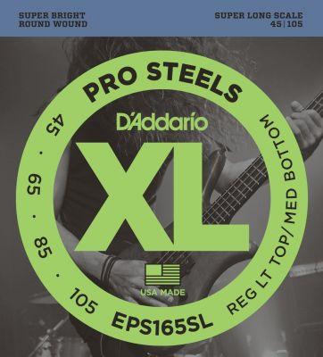 D'Addario XL ProSteels Bass 045-105 Long
