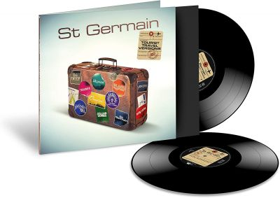 ST GERMAIN - TOURIST - 20TH ANNIVERSARY - TRAVEL VERSIONS -  2LP VINYL