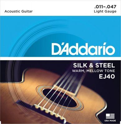 D'Addario Silk and Steel
