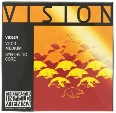 Thomastik Infeld Vision Violin String Set, Full Size