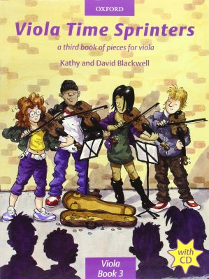 Viola Time Sprinters (Book and CD)