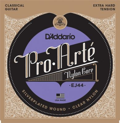 D'Addario Pro-Arte Nylon Classical Guitar Strings, Extra Hard Tension