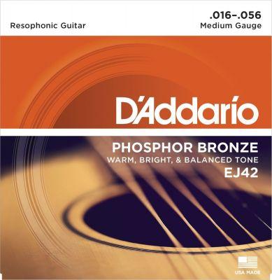 D'Addario Phosphor Bronze Resophonic