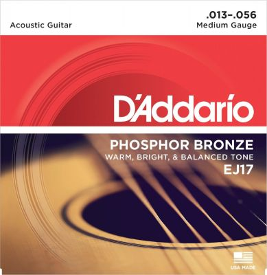 D'Addario Phosphor Bronze Medium