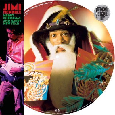 Jimi Hendrix - Merry Christmas And Happy New Year - Vinyl Picture Disc (Blk Friday 2019)