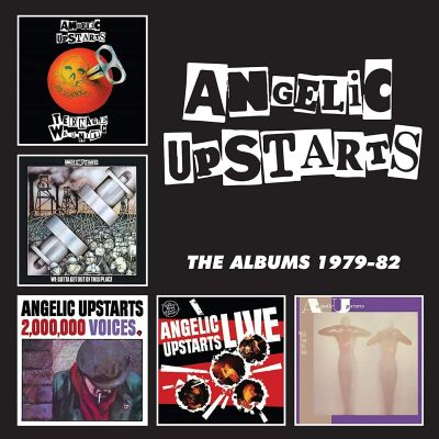 Angelic Upstarts - The Albums 1979-82 - CD BOX SET