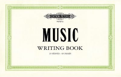 Music Writing Book - 10 Stave 48 Page