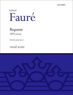 Requiem 1893 Vocal Score