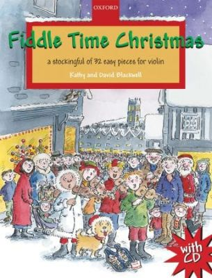 Blackwell, Kathy And David - Fiddle Time Christmas Book + CD