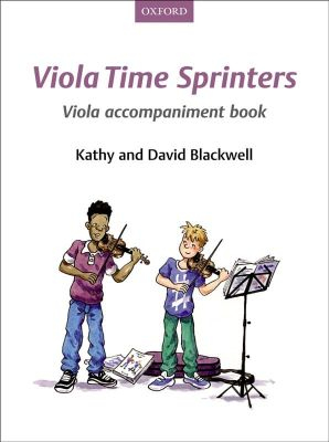 Viola Time Sprinters (Viola accompaniment)
