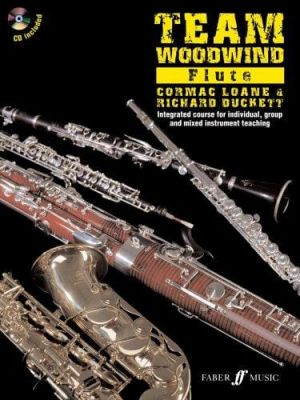 Team Woodwind Flute (Book with CD)