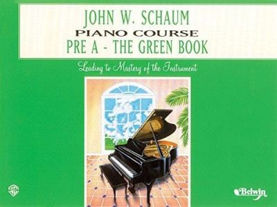Schaum Piano Course Pre A (Green)