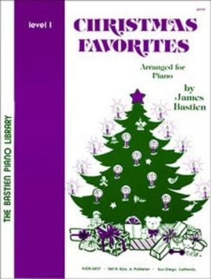 Bastien Piano Library: Christmas Favourites Level 1