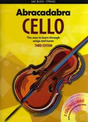 Abracadabra Cello (Pupil's book and 2CDs)