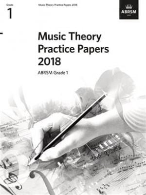 Music Theory Practice Papers 2018, ABRSM Grade 1