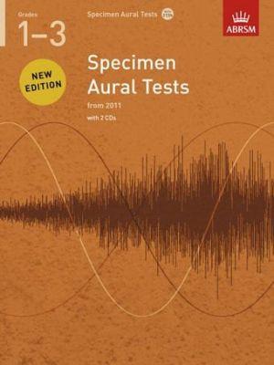Specimen Aural Tests Grades 1-3 (Book with 2 CDs)
