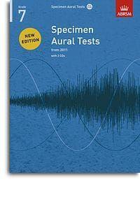 Specimen Aural Tests Grade 7 (Book with 2 CDs)