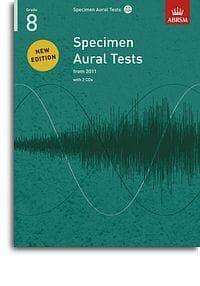 Specimen Aural Tests Grade 8 (Book with 2 CDs)