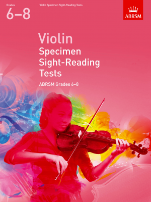 ABRSM Violin Specimen Sight-Reading Grades 6 - 8