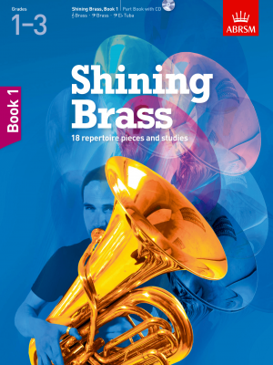 Shining Brass 1 Grades 1-3 (Book and CD)