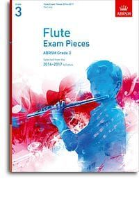 ABRSM Flute Exam pieces 2014-2017 Grade 3 (part only)