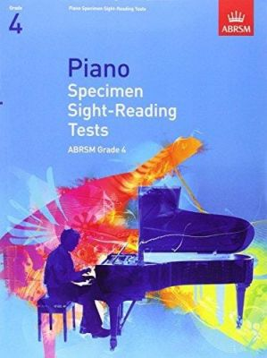 ABRSM Piano Specimen Sight Reading Tests From 2009 (Grade 4)