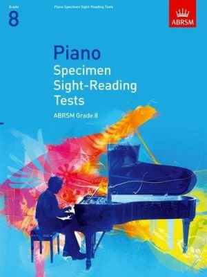 ABRSM Piano Specimen Sight Reading Tests From 2009 (Grade 8)